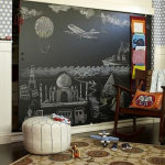 How To Build a Children's Playroom Chalkboard