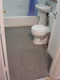 Bathroom Carpet Rug DoItYourself lil Project